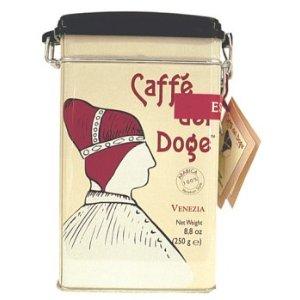 Caffe del Doge kaffeburk med 250 gram kaffe.