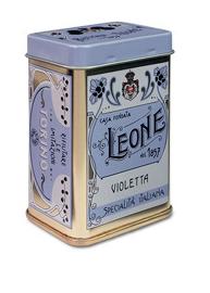 Pastiglie Leon - Viol Pastiler elegant plåtask.