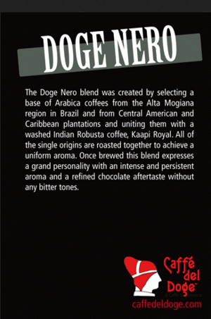 Caffe del Doge - Doge Nero