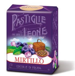 Pastiglie Leone - Blåbär Pastiller