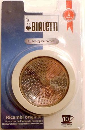 Bialetti Venus 10 kpp, gummipackningar ink filter