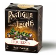 Pastiglie Leon - Lakrits Pastiller