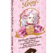 Pastiglie Leon - Miraflores Rosa Cioccolato Leone 64% Cacao 50gram.