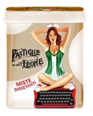 Pastiglie Leone - Blandade Pastiller Pinup ask