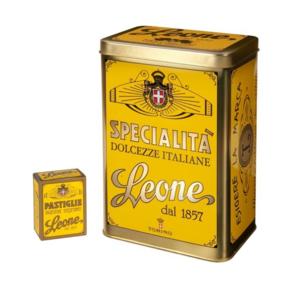 Pastiglie Leone - Specialita -Blandade frukt pastiller
